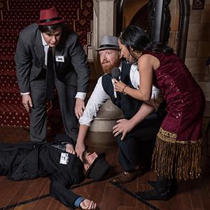 Lansing Murder Mystery Crime Scene